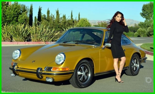 1972 Porsche 911 911E SUNROOF COUPE