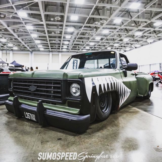 73 Chevy Squarebody Bagged And Bodied For Sale: Photos