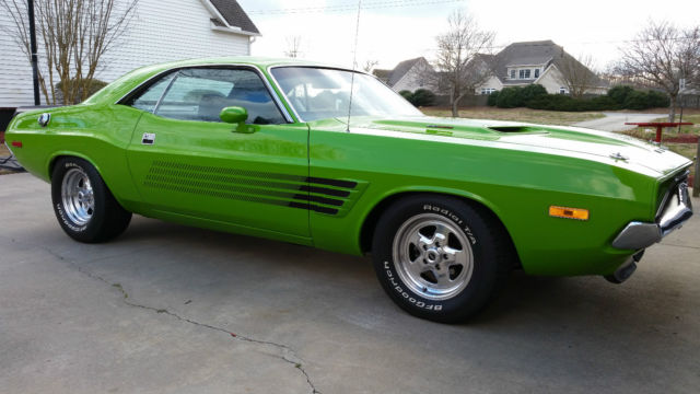 73 Dodge Challenger 440 4 Speed For Sale Photos Technical