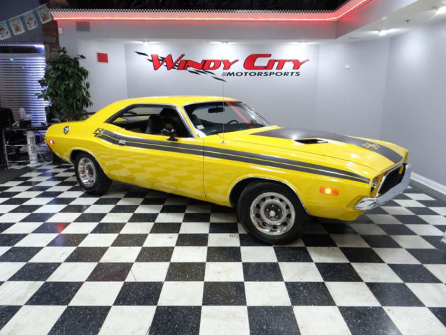 73 Dodge Challenger R T Hardtop 318c I Rally Wheels Custom Interior