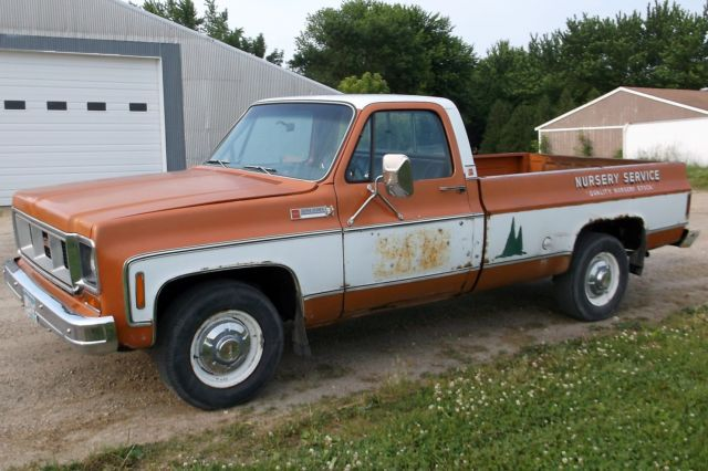 73 Gmc Sierra Grande 2500 Pickup Truck Factory Ac Slider