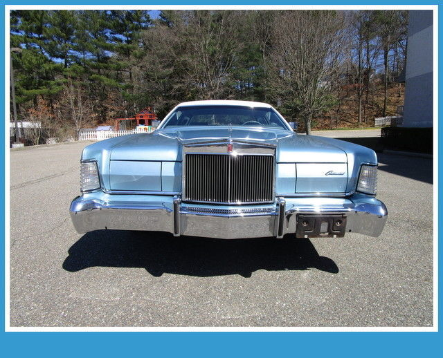1973 Lincoln Mark Series Mark IV only 33k original miles