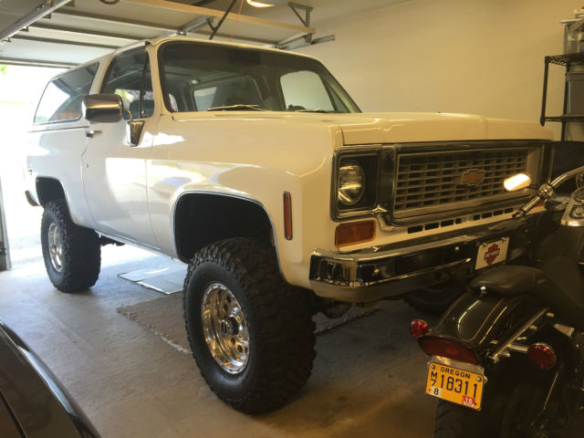 1974 Chevrolet Blazer removeable hard top