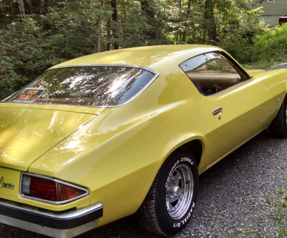 1969 Corvette For Sale >> 74 Camaro-custom (tucked bumpers) for sale: photos, technical specifications, description
