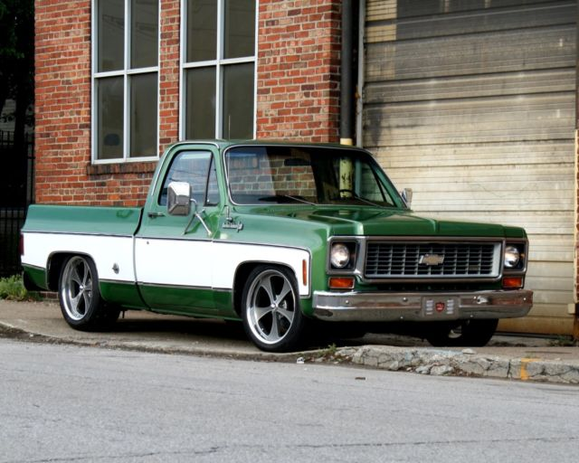 74 Chevy C10 Pro Touring Square Body Short Bed Pickup Truck Original