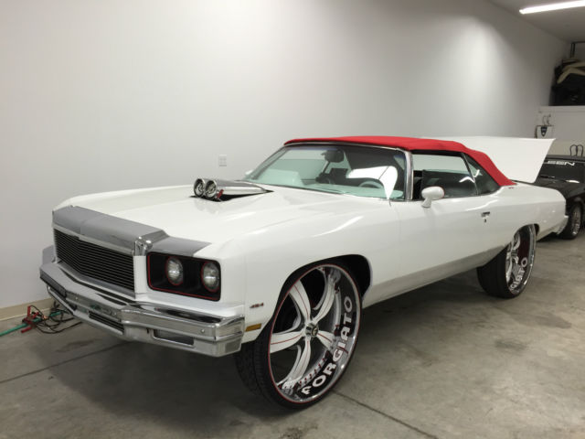 75 DONK CAPRICE COVERTIBLE ON 30