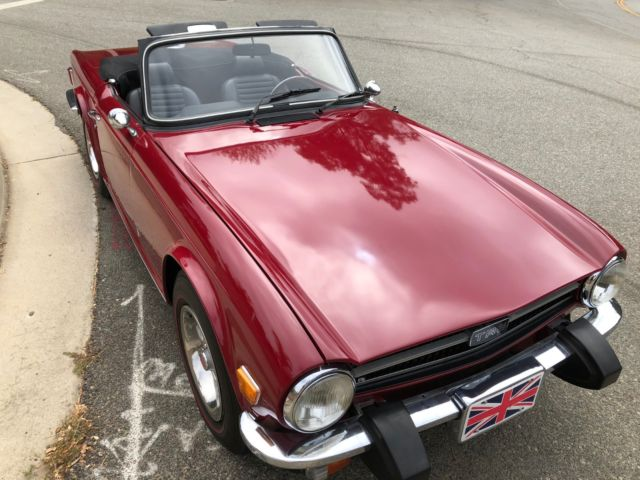 75 Triumph Tr6 Beautiful For Sale Photos Technical
