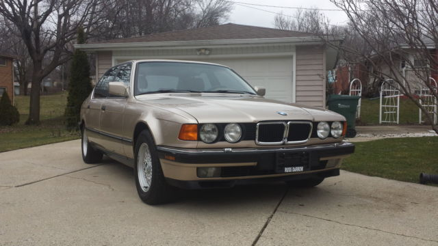 1992 BMW 7-Series 750il