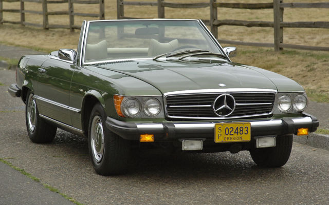 1976 Mercedes-Benz SL-Class : Low mile Survivor :