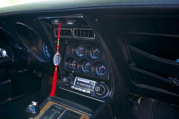 76 Corvette Stingray L 48 T Top W Black Leather Interior