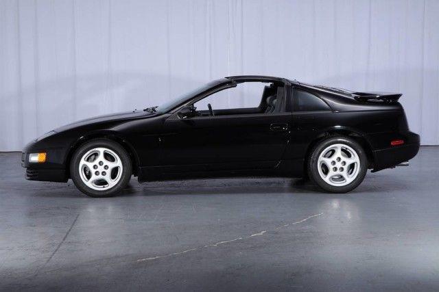 7,661 MILES 5-Speed TWIN TURBO T-Tops STOCK Black on Black VERY