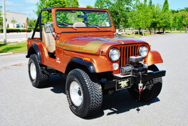 1977 Jeep Renegade CJ-5 Frame Off Restored 304 V8 Absolutely Gorgeous