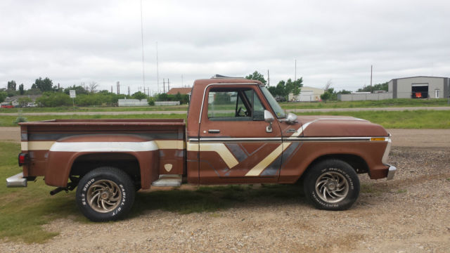 1977 Ford F-100 SHORT BED