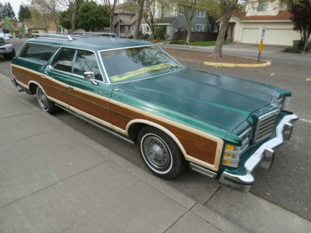 Northern California No Rust: 78 1978 FORD LTD COUNTRY SQUIRE 9 PASSENGER CALIFORNIA CAR
