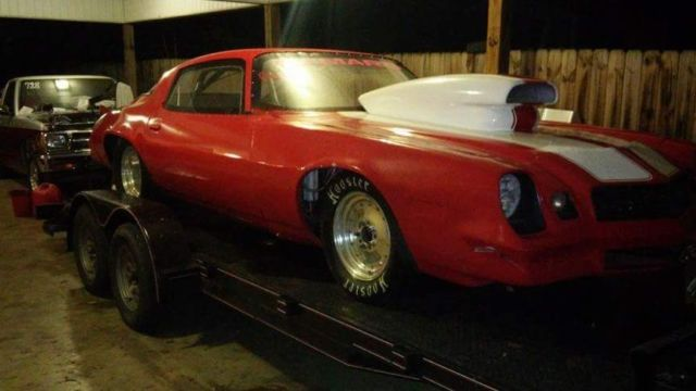 78 camaro tube chassis big tire drag car big block for sale: photos