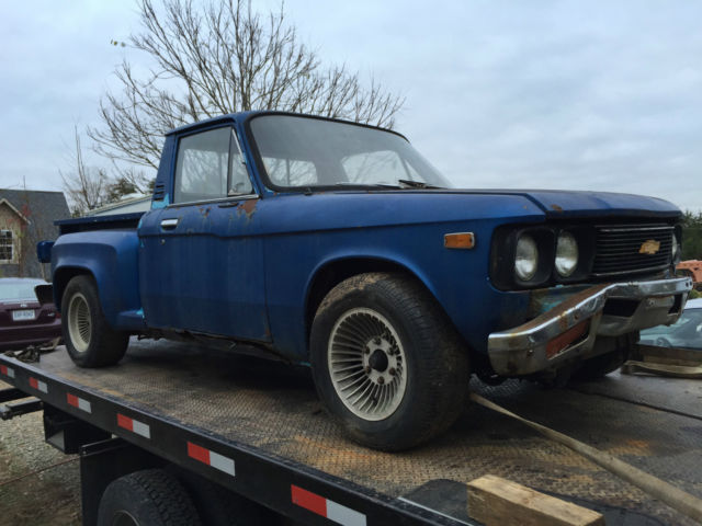 78 Chevy Luv Truck Step Side For Sale Photos Technical