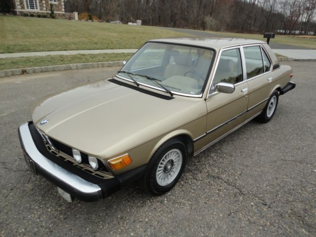 1979 BMW 5-Series One Owner Car, 80k Orig Mi