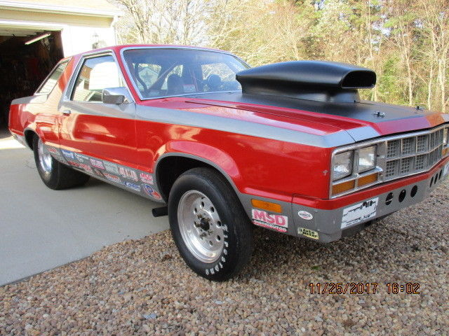 79 Ford Fairmont Drag Car Fox Body Mustang Undercarrage For Sale