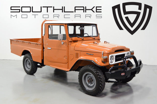 1979 Toyota Land Cruiser Long Wheelbase Pickup Diesel