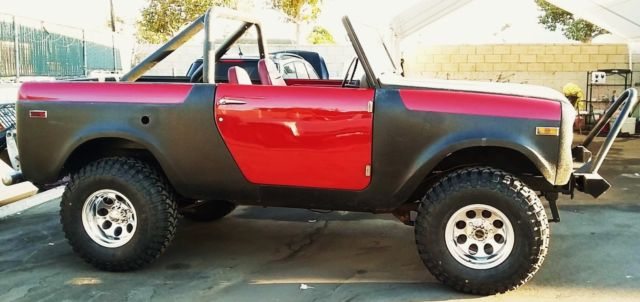 1971 International Harvester Scout V8 800B Rare