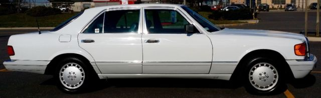 80k mile mercedes benz 300se no reserve w126 420sel 500sel for Mercedes benz huntington phone number