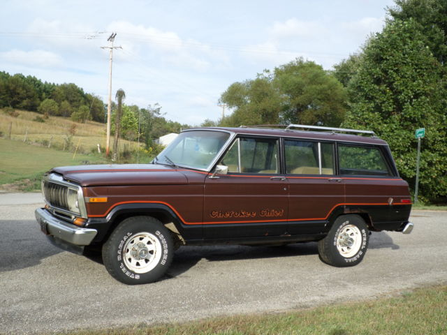 Jeep Build Sheet >> 81 Amc Jeep Grand Cherokee Chief S Wagoneer 4x4 Project Parts Rock