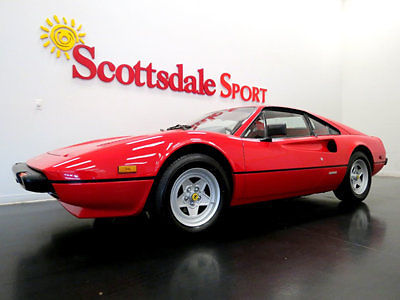 1982 Ferrari 308 ONLY 28K MILES * UBER COLLECTIBLE GTB in SHOW QUAL