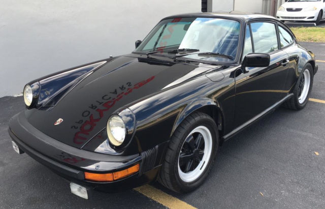 1983 Porsche 911 SC Coupe 2-Door