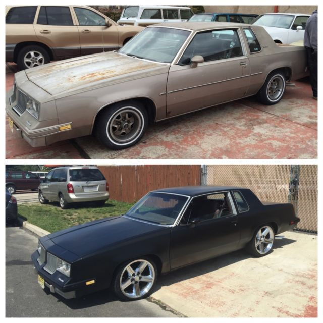 84 cutlass supreme with 350 caprice police cruiser motor for sale photos technical
