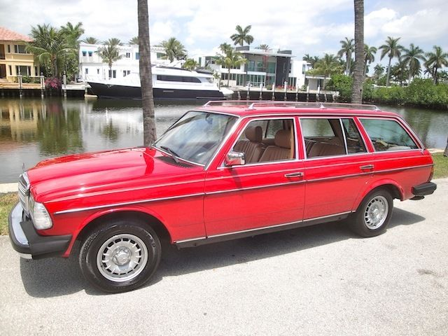 1984 Mercedes-Benz 300-Series WAGON*FLA
