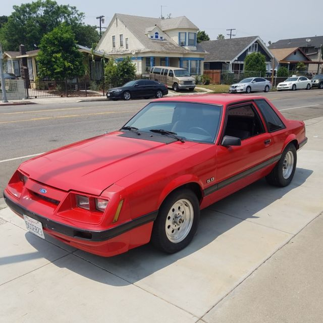 1985 Ford Mustang coupe