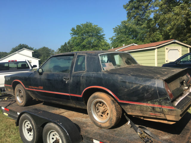 85 MONTE CARLO SS RARE FIND for sale: photos, technical