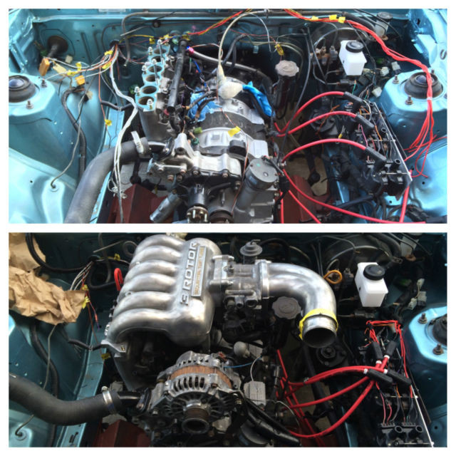 Mazda 13b Rotary Engine: 85 Rx7 GSL With 20B 3 Rotor Engine FB SA SA22C FD3S FC3S