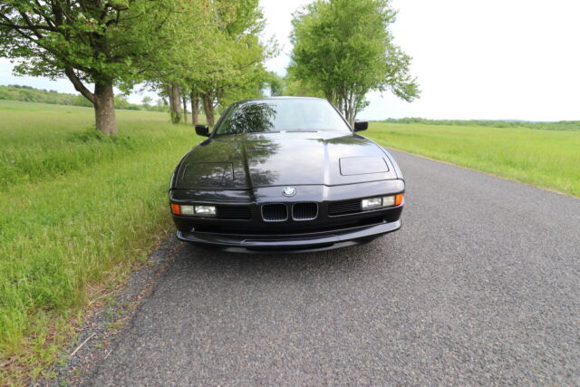 1994 Black BMW 8-Series Coupe with Black interior