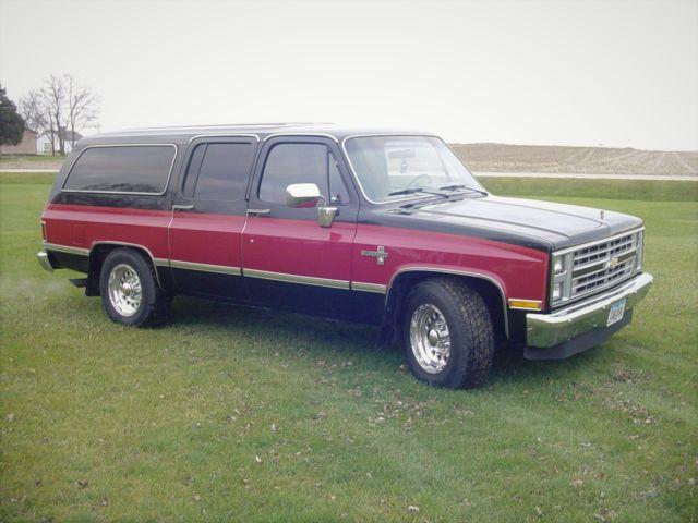 86 Chevrolet C20 Suburban 67 476 Original Miles