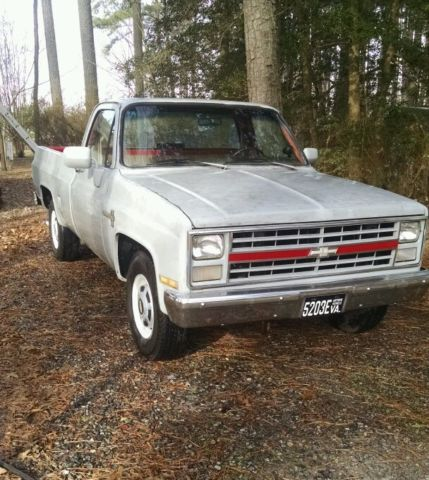 86 chevy custom deluxe c20 pickup truck for sale photos technical specifications description. Black Bedroom Furniture Sets. Home Design Ideas