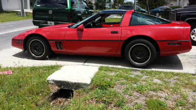 1986 Chevrolet Corvette z51 edition