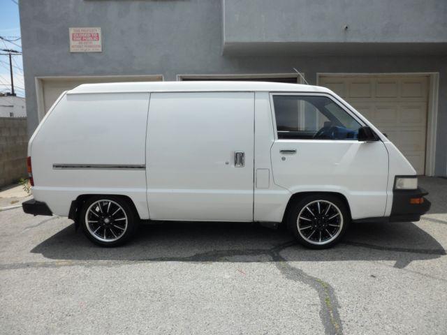 88 Toyota Cargo Van Rare For Sale Photos Technical