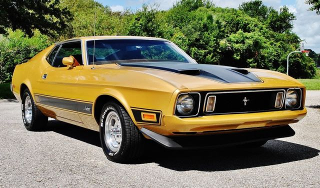 1973 Ford Mustang Mach 1 351 Cleveland A/C Power Steering & Brakes
