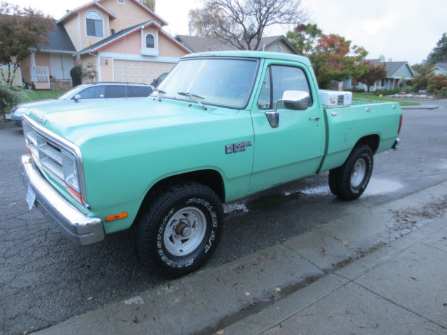 1989 Dodge Other Pickups STANDARD