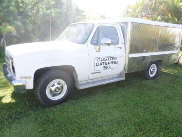 Lunch Truck For Sale >> 89 Chevy 3500 Roach Coach Lunch Truck Food 1 Owner For Sale