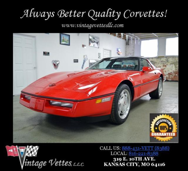 1989 Chevrolet Corvette 2dr Coupe Ha