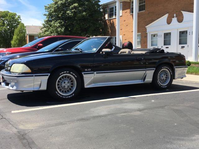 89 Ford Mustang Gt Convertible All Original