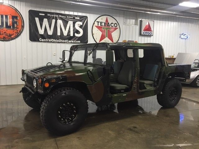 1980 Hummer H1 Military Edition