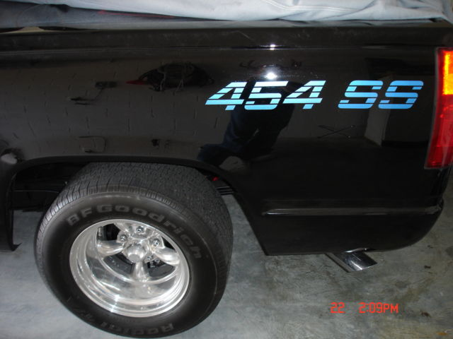 90 Chevy 454SS Pickup Truck for sale photos technical