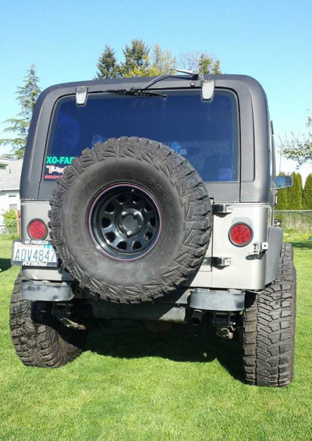 90 jeep wrangler yj new 4 2l 6 new 8 8 ford axle 4 10 gear tires 4wd built daily for sale. Black Bedroom Furniture Sets. Home Design Ideas
