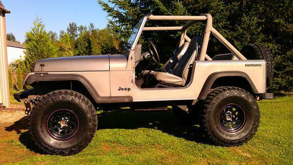Jeep Wrangler With 6 Inch Lift >> 90 Jeep Wrangler YJ NEW 4.2L 6 NEW 8.8 FORD AXLE 4:10 GEAR TIRES 4WD BUILT DAILY for sale ...