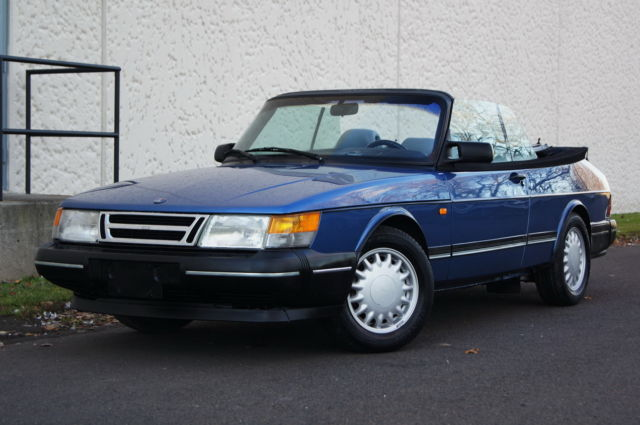 1993 Saab 900 2dr Coupe