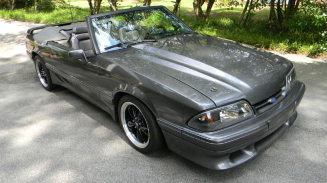 91 Ford Mustang Gt Convertible