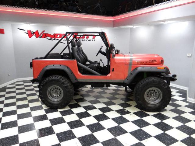 91 jeep wrangler 4x4 custom roll cage custom paint lifted. Black Bedroom Furniture Sets. Home Design Ideas